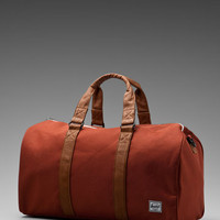 Herschel Supply Co. Ravine Duffle in Rust from REVOLVEclothing.com