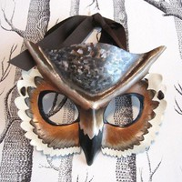 Made to Order Adult Size Great Horned Owl by SundriesAndPlunder