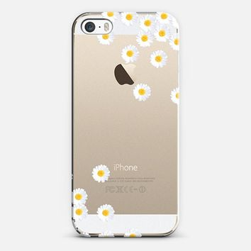 Cuuuuteeee ***DAISY RAIN ***  Crystal Clear iPhone Case iPhone 5s case by Monika Strigel | Casetify