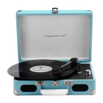 The Roadster 3-Speed Suitcase Turntable