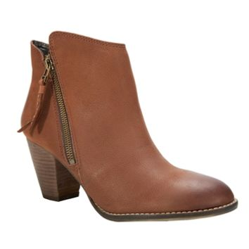 Steve Madden Whysper Short Zip Boot at Von Maur