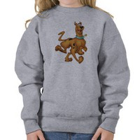 Scooby Doo Airbrush Pose 3 Pull Over Sweatshirts from Zazzle.com