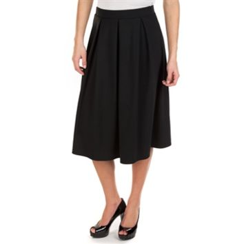 Moa Moa Juniors Pleated Midi Skirt at Von Maur
