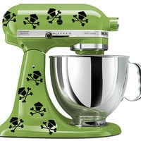 KitchenAid mixer art, 16 Skull cupcake decal