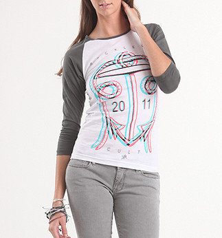 Anchors Away Raglan Tee