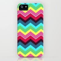 Fiesta Chevron iPhone Case by Beth Thompson | Society6