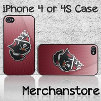 Tampa Bay Buccaneers Bucs Logo Custom iPhone 4 or 4S Case Cover