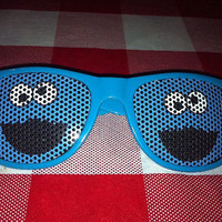 Cookie Monster CustomEyeZD Sunglasses