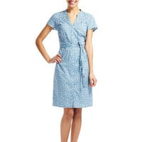 Retro Spot Shirt Dress (Airforce Dotty)