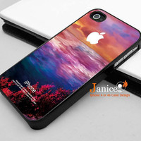 iphone case with unique design, iphone 4s cases,iphone 4 case,apple iphone case 4, with sunrising printing,333