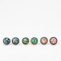 Cosmic Dust Earring Set- Multi One