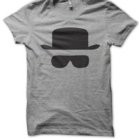 Breaking Bad - Heisenberg Hat and Glasses T Shirt
