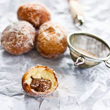 Sips and Spoonfuls: Nutella Doughnuts