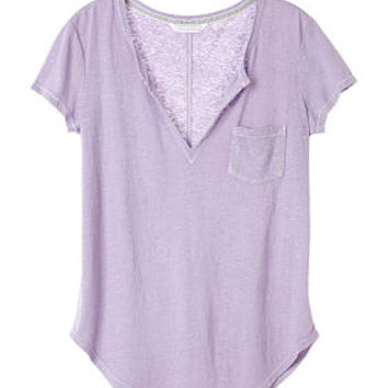 Split-neck Tee  Victoriax27s Secret