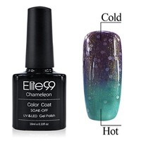 Qimisi Color Change with Temperature Nail Art Polish Soak-off Gel Nail Polish UV LED Gel Polish 10ml