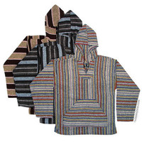 Mexican Poncho Pullover Baja Hoodie on sale for &amp;#36;19.95 at Hippie Shop
