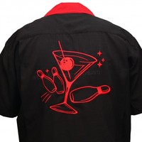 Steady Clothing Martini Strike Bowling Shirt | Retro Vintage