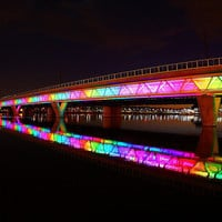 Phoenix Light Rail Rainbow! | Flickr - Photo Sharing!