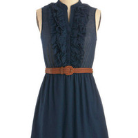 Next Weekend Dress in Evening | Mod Retro Vintage Solid Dresses | ModCloth.com