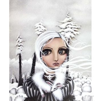 Eirwen Art Print by Angelina Wrona at Art.com