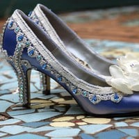 Blue Wedding Shoes:  Wedding Shoes