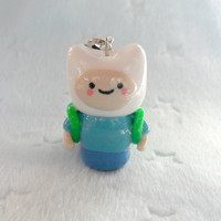 Finn Chibi (Adventure Time), Charm with Cell Phone Strap