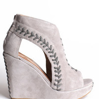 Matiko Pocca Wedges - &amp;#36;184.00 : ThreadSence.com, Your Spot For Indie Clothing  Indie Urban Culture
