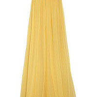 Discount Robert Rodriguez Embellished silk-chiffon strapless gown | THE OUTNET