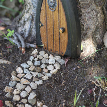 Faerie doors Fairy Doors Gnome Doors Elf Doors 55 by NothinButWood