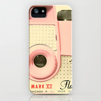 iPhone 5 Case, iPhone 5, vintage camera, pink camera, toy camera, case for iPhone 5, camera geek, bomobob, camera collector