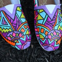 Custom FULL Tribal Print Toms