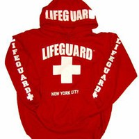 LIFEGUARD New York City Red Hoodie
