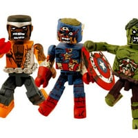 Marvel Zombie Minimates get ahead - POWET.TV: Games, Comics, TV, Movies, and Toys