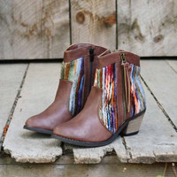 Makay Stitch Boots, Sweet Bohamian Boots &amp; Shoes