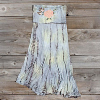 Tie Dyed Meadows Dress, Sweet Bohemian Clothing