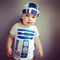 R2D2 Toddler Halloween Kids Costume - Star Wars Inspired