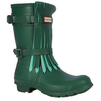 Hunter Original Short Fringe Rain Boot at Von Maur