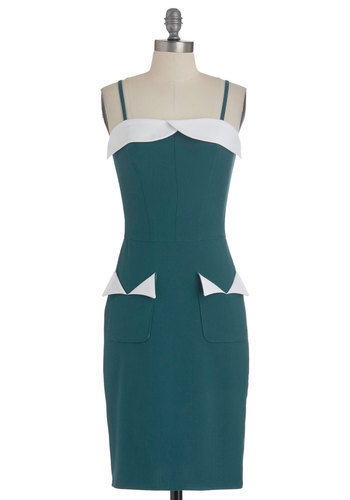 Dance Teal Dawn Dress | Mod Retro Vintage Dresses | ModCloth.com