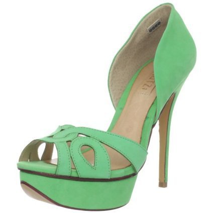 Schutz Women's Diana Open-Toe Pump - designer shoes, handbags, jewelry, watches, and fashion accessories | endless.com