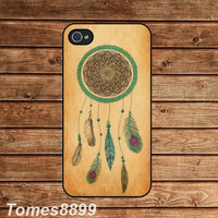 iphone 4 case,iphone 4s case--Dream Catcher  ,in plastic or silicone case