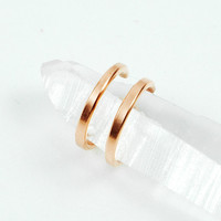Copper Double Band Ear Cuff on Luulla