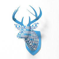 DENY Designs Home Accessories | Lisa Argyropoulos Retrocity In Blue Sky Faux Deer Mount