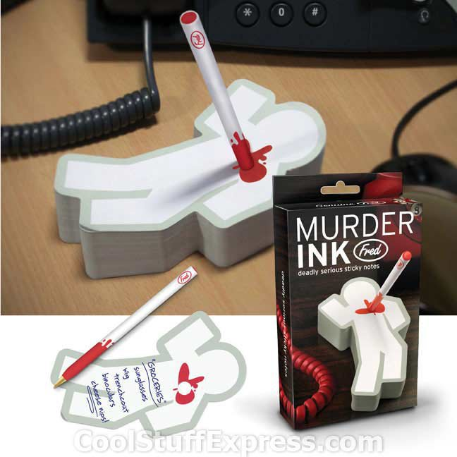 Murder Ink Pad &amp; Pen Set