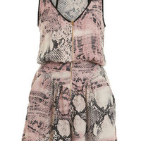 Snake Zip Romper - View All - Going Out