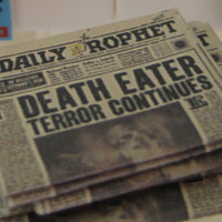 Daily Prophet Newspapers from Harry Potter in by LittleWooStudio