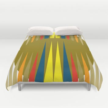 Games Duvet Cover by Heaven7