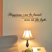Harry Potter Turn On The Light Wall Quote by PurpleHeartz on Etsy