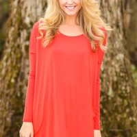 PIKO:Just About Anywhere Tunic-Flame