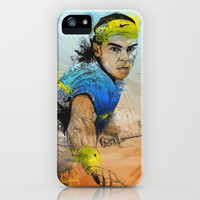 Rafa Nadal iPhone Case by Fresh Doodle - JP Valderrama | Society6