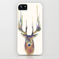 Deer \ Steadfast iPhone Case by Amy Hamilton | Society6